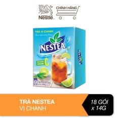 Trà vị chanh Nestea hộp (18 gói x 14g)