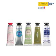 Bộ 5 tuýp kem dưỡng tay L'Occitane Hand Cream Set 10ml/tuýp