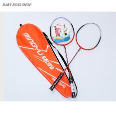 Bộ 2 vợt cầu lông khung hợp kim tặng kèm túi đựng