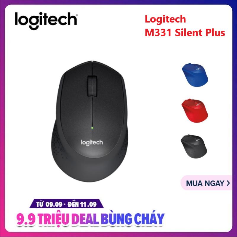 Chuột Không Dây Logitech M331 Silent Plus - Digiworld