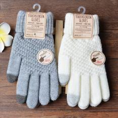 Găng tay len NAM NỮ lót lông – CẢM ỨNG ĐIỆN THOẠI