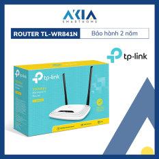 Bộ Phát Wifi Chuẩn N Tốc Độ 300Mbps TP-Link TL-WR841N – Hàng Chính Hãng