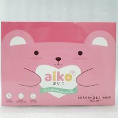 Khăn vải khô đa năng Aiko 160 tờ