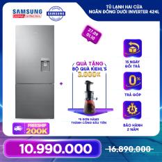 [Trả góp 0%]Tủ lạnh hai cửa Ngăn Đông Dưới Samsung Inverter 424L – RL4034SBAS8 – REF
