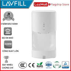 Máy sấy tay treo tường tự động công suất cao 2100W LAVFILL LFHD-1X