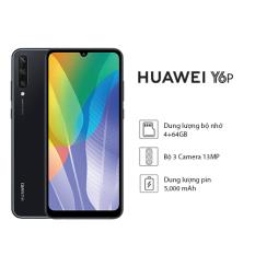 Điện thoại Huawei Y6p (4GB/64GB) – Bộ 3 camera sau chất lượng với ống kính góc siêu rộng – Màn hình LCD tràn viền kích thước lớn 6.3 inch độ phân giải HD+ Cảm biến vân tay – Dung lượng pin khủng lên đến 5000mAh – Hàng phân phối chính hãng