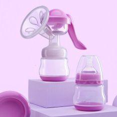 Máy hút sữa bằng tay có đệm matxa tặng 6 túi trữ sữa và núm ti