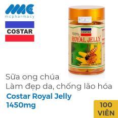 Sữa Ong Chúa Costar Royal Jelly 1450mg, Chai 100 Viên
