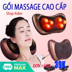 [CỰC SỐC – GIÁ SỈ] Gối Massage Hồng Ngoại 8 Bi Kiểu Dáng Hàn Quốc, Máy Massage Hồng Ngoại Thế Hệ Mới. Mát Xa Các Cơ Huyệt, Xoa Bóp Chống Nhức Mỏi, Nhanh Chóng Giảm Căng Thẳng , Stress – Bảo Hành Toàn Quốc Trong Thời Gian 12 Tháng