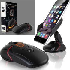 Giá đỡ điện thoại Xe hơi đa năng gấp gọn hình con chuột máy tính [PK Cu Bon]