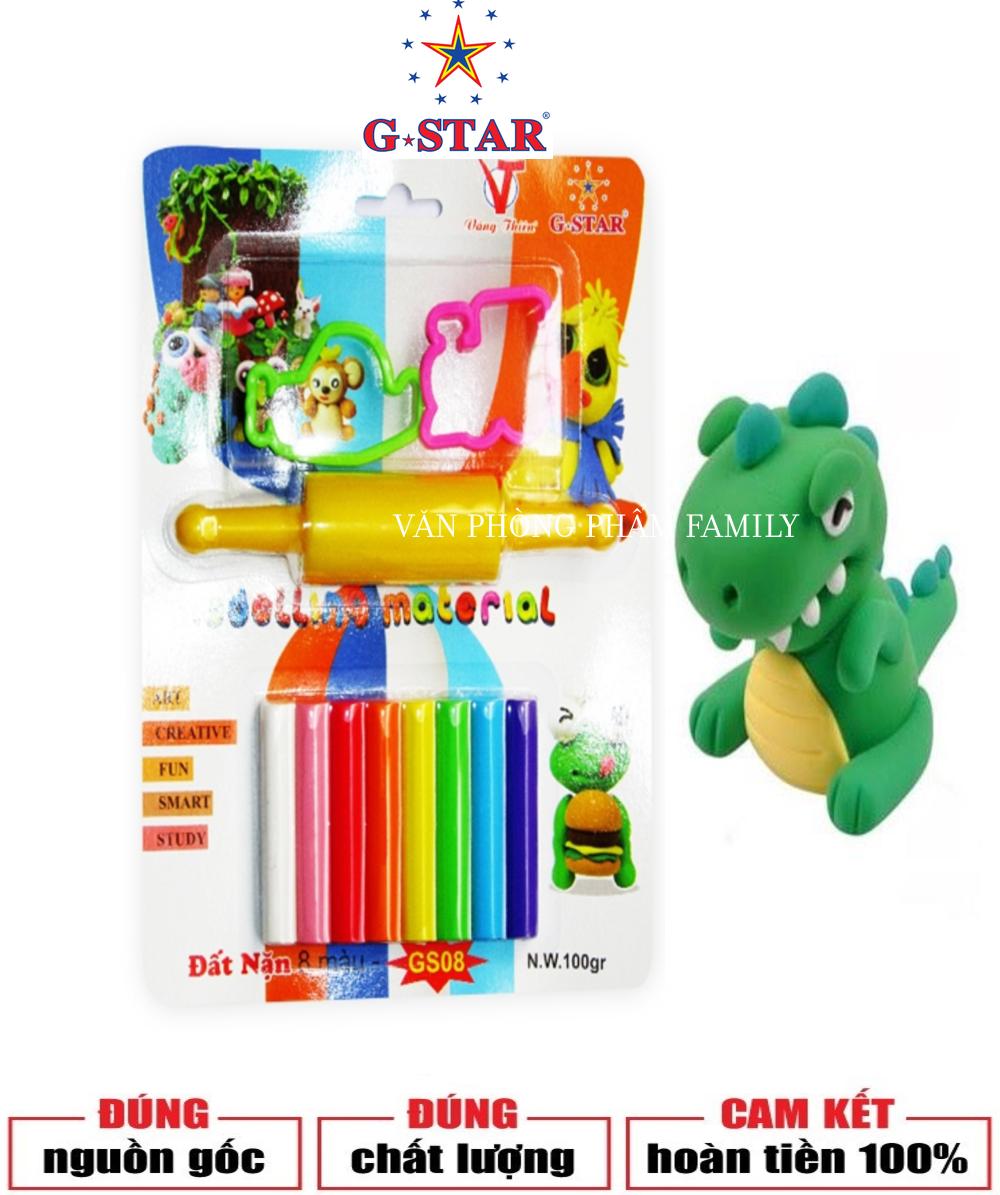 Đất nặn 8 màu G-STAR đặt tiêu chuẩn về độ an toàn dành cho sản phẩm đồ chơi trẻ em được bán trong liên minh Châu Âu