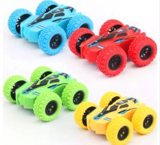 Xe địa hình đồ chơi cho trẻ em trượt lật theo quán tính có thể chạy cả 2 mặt bằng nhựa nguyên sinh ABS an toàn cho bé yêu nhiều màu sắc đồ chơi cho trẻ em