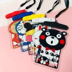 Túi đựng điện thoại chống nước cực đáng yêu cute phô mai que