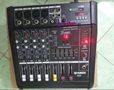 Bàn mixer liền công suất YAMAHA 402 kéo tốt loa bass 30cm coil 56