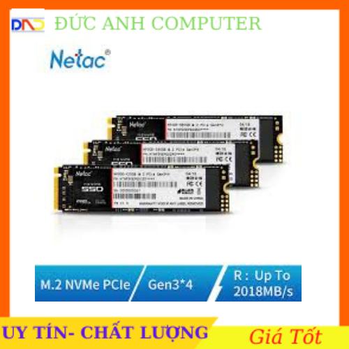 [Nhập NEWSELLERW503 giảm 10% tối đa 100K] SSD M2 Nvme Netac 128Gb/ 256Gb N930E Pro bảo hành 3 năm- Chình Hãng 100%- Full box- Tặng Vít và ốc