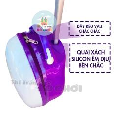 Vali kéo bằng nhựa chống thấm cho bé yêu đi du lịch/đi học – Thị trấn đồ chơi