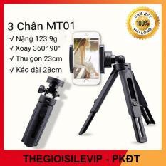Giá đỡ điện thoại 3 chân Tripod MT01 mini (ĐEN) – Chân đế chụp hình, Tripod, gậy chụp hình 3 chân, 3110, 3120, chân máy ảnh, chân máy quay phim, gậy chụp ảnh, gậy tự sướng, selfile,… – thegioisilevip