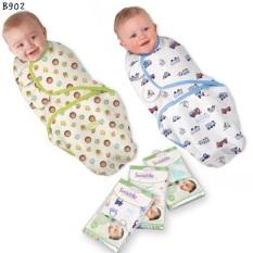 Ủ kén cho bé sơ sinh swaddleme hàng đẹp được sử dụng phù hợp với bé từ sơ sinh đến 4 tháng tuổi