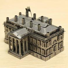Mô hình kim loại lắp ghép lắp ráp trang trí trưng bày 3D Nhà Trắng bằng thép không gỉ (Tặng dụng cụ lắp ghép khi mua 2 bộ bất kỳ)
