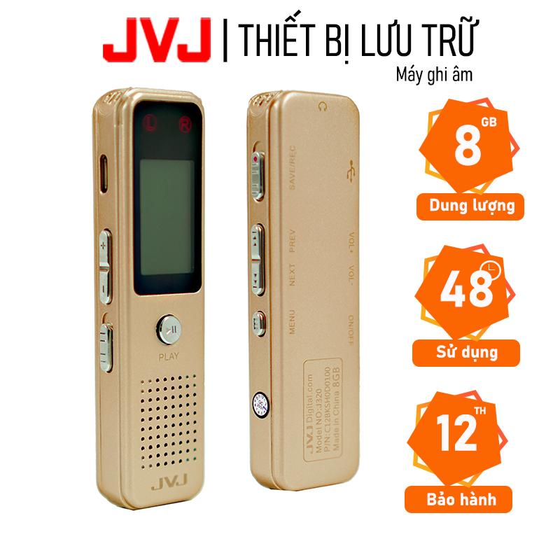Máy ghi âm chuyên nghiệp JVJ DVR J320 8Gb chuyên dụng mini siêu nhỏ ghi âm đến 48h hỗ trợ lọc âm cực tốt bảo hành 12T Máy ghi âm chuyên nghiệp, chống ồn tốt nhat, giá rẻ nhat – Máy ghi âm chất lượng cao, pin siêu khủng – Máy ghi