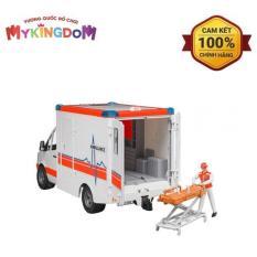 MY KINGDOM – Xe cứu thương Bruder MB với tài xế BRU02536 trắng