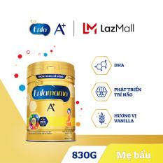 [FREESHIP] Sữa bột Enfamama 360° Brain Plus cho mẹ mang thai và cho con bú – Vị Vanilla – 830g – Cam kết HSD còn ít nhất 10 tháng
