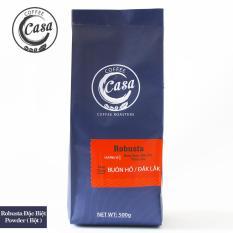 Cà phê bột Robusta nguyên chất đặc biệt 500gr – Casa Coffee