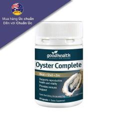 Tinh chất hàu biển Goodhealthy Oyster Plus 60v – Tăng cường sinh lý nam