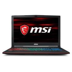"MSI GP63 LEOPARD 8RF (CORE I7 8750H 16GB 1TB 256GB GTX1070 8GB 15.6"" FHD 120HZ)"