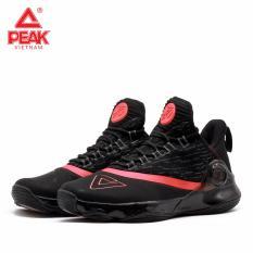 Giày bóng rổ PEAK Tony Parker VI E83323A – Đen Đỏ