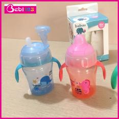 Bình tập uống nước đầu mỏ vịt Baby Babuu Nhật Bản 240ml cho bé