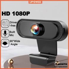 ✔️Webcam Mini Hd 1080p 720p Tích Hợp Micro Tiện Dụng Cho Máy Tính, học online livestream, Webcam máy tính Full HD Rõ nét