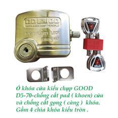 Khóa chụp chống cắt toàn diện GOOD D5-70 – Chống cắt khoen cửa và chống cắt gọng khóa.