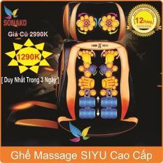 [GIÁ SỐC 03 NGÀY] Ghế Massage toàn thân SIYI (Đệm ghế), Ghế Massage, Ghế Massa, Ghế Massage văn phòng, Ghế Massage giá rẻ, ghế massage toàn thân loại nào tốt, hướng dẫn sử dụng ghế massage, Ghế Massa giá rẻ, Ghế matxa- Sonako