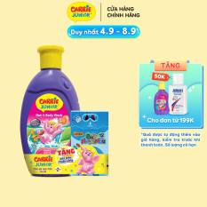 Sữa Tắm Gội cho bé Carrie Junior hương Cherry 280g – Bút Màu