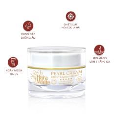 [MUA 1 TẶNG 1] Kem dưỡng trắng da tinh chất ngọc trai ngăn ngừa lão hóa cao cấp hara white 30g