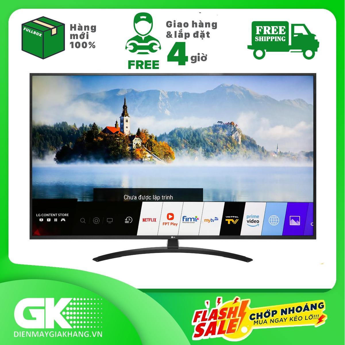 TRẢ GÓP 0% – Smart Tivi LG 4K 65 inch 65UM7400PTA – Hàng mới 100% – Bảo hành 24 tháng