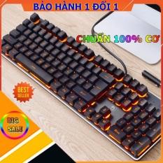 Bàn Phím Cơ Gaming K101 Bản nâng cấp Bảng Kim Loại
