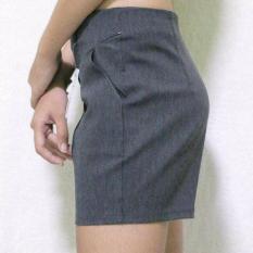 quần kaki co dãn lưng cao màu mới