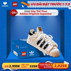 LEGO ADULT 10282 Giày Thể Thao Adidas Originals Superstar (731 chi tiết)