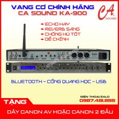 Vang cơ CA SOUND KA-900 Hàng chính hãng – Reverb sáng, echo mượt – Tặng dây canon – Có bluetooth, cổng quang học, chơi nhạc bằng USB