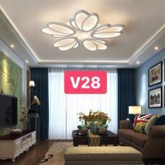 ĐÈN ỐP TRẦN LED TRANG TRÍ HIỆN ĐẠI V28