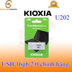 USB 16gb KIOXIA U202 chuẩn 2.0 (trắng) Japan – FPT phân phối