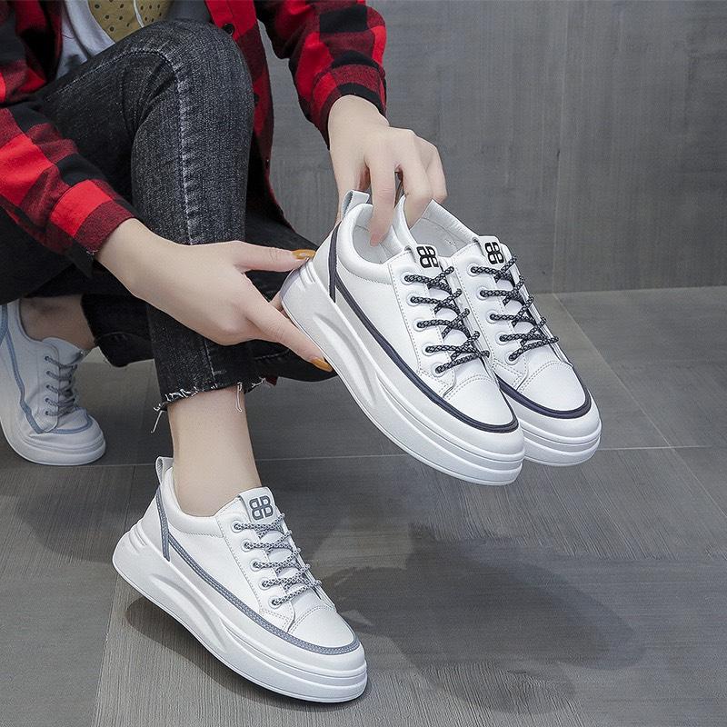 Giày nữ,giày thể thao dây kể viền phản quang siêu đẹp