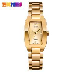 Đồng hồ nữ thời trang SKMEI 1400 dây thép không gỉ cao cấp