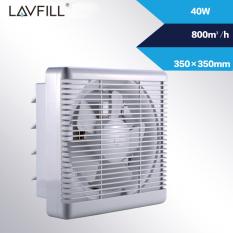 Quạt thông gió gắn tường 2 chiều LAVFILL LFW-15DK; LFW20DK; LFW-25DK; LFW-30DK
