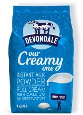 Sữa tươi dạng bột Devondale Úc nguyên kem 1kg, HSD tháng 5/2019 (Hàng nhập khẩu)