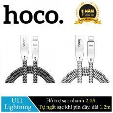 Cáp sạc Lightning Hoco U11 cho iPhone/iPad tự ngắt khi pin đầy – Hãng phân phối chính thức