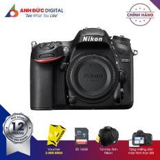 Máy ảnh Nikon D7200 24.2MP Body – Hãng Phân Phối Chính Thức + Thẻ nhớ 16Gb + Túi máy ảnh