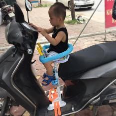 HÀNG LOẠI 1 Ghế ngồi xe máy trẻ em ghế xe điện ghế đón con Picpoc thông minh